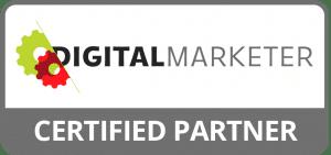 Digital Marketer Certified Partner Badge