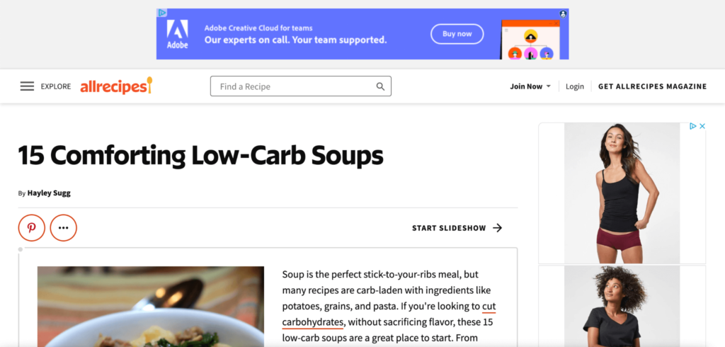 Google Ads Display Ad Example