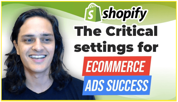 The Critical Settings for eCommerce Ads Success YouTube thumbnail