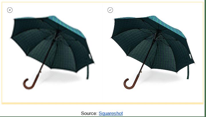 low quality vs high quality image