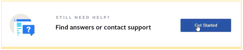 How to get started with Facebook contact support