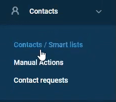 find your contacts in GoHighLevel